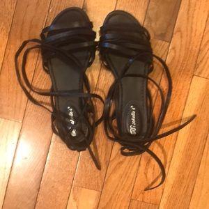 Women Tie up sandals